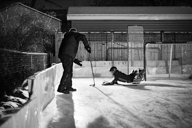 Donlea Backyard Rink