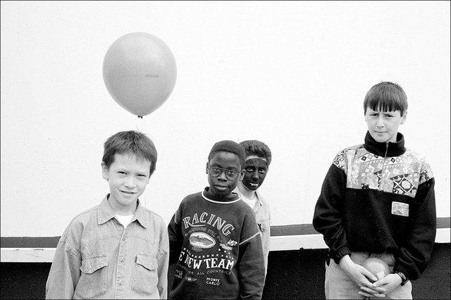 Boys with a Balloon