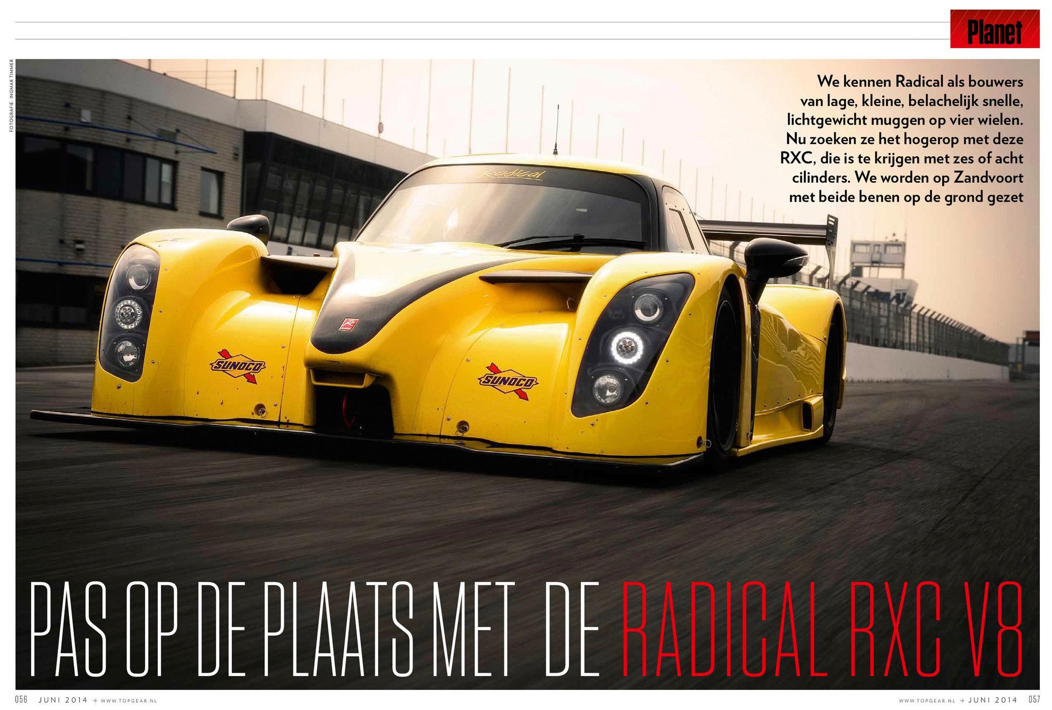 Radical RXC V8