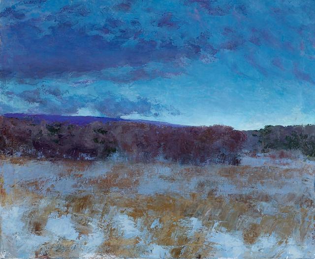 """Field Near Studio, 28 x 34"""""""