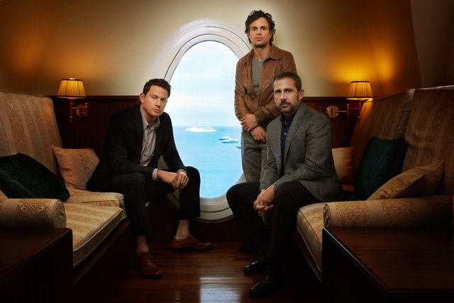 channing tatum, mark ruffalo, steve carell, actors