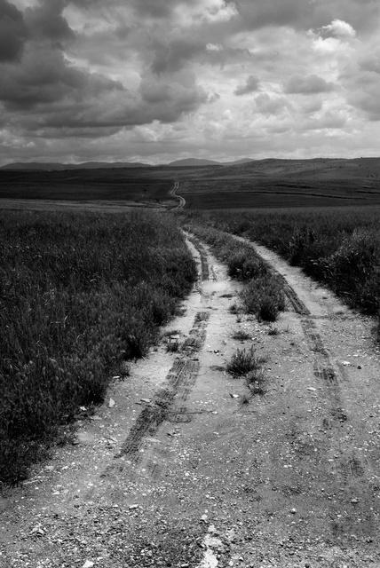Le chemin de Fuente de Cantos, Estremadure