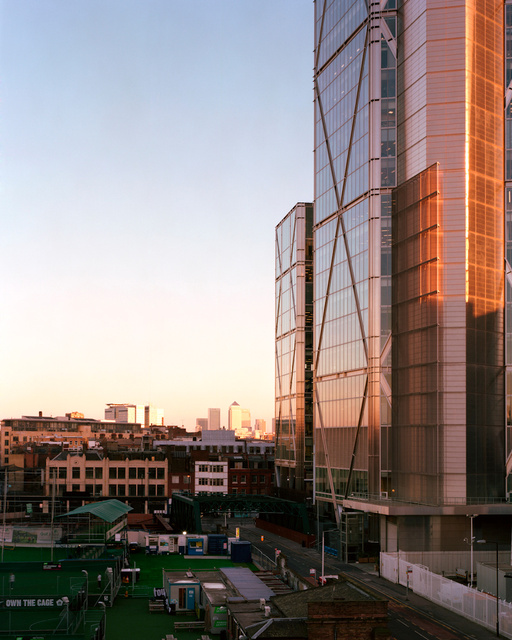 Broadgate Tower, 2011