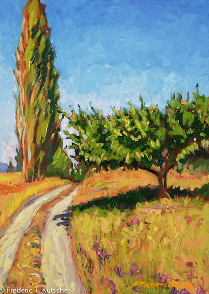 2007-19 Poplars_ Apple Tree & Vetch (10W x 14H oil on board).jpg
