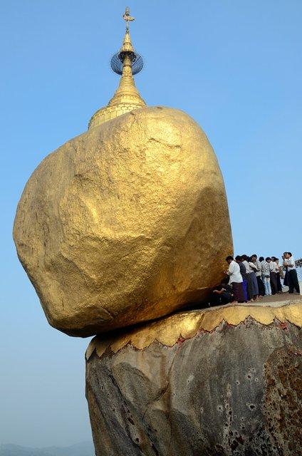 Golden rock - Burma