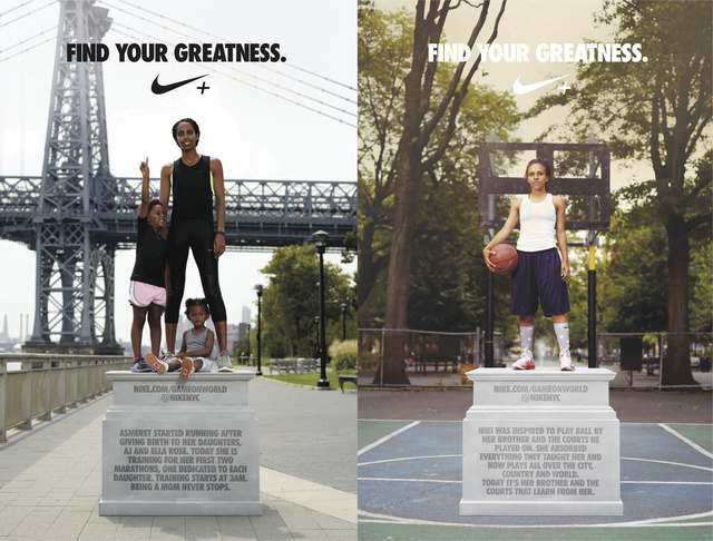 Nike Campaign Shot by Chris Hornbecker in NYC