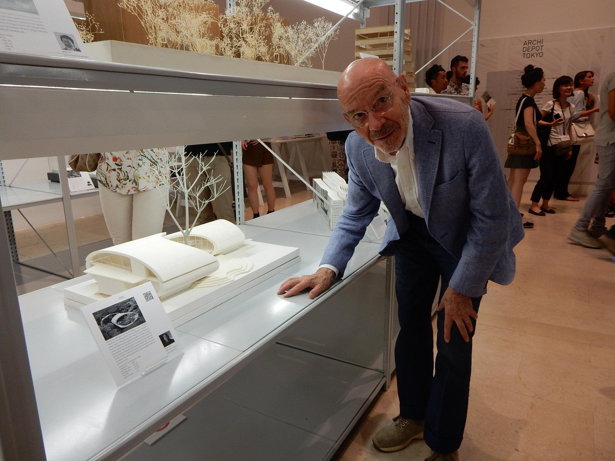 イタリアの巨匠、マリオ・ベリーニ氏