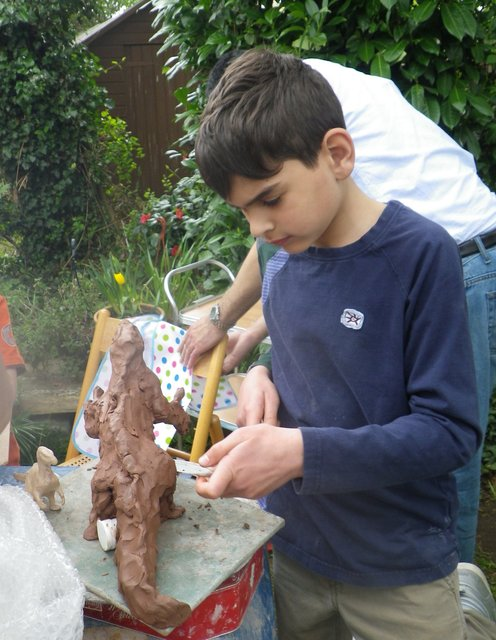 Family Sculpture Party 2014