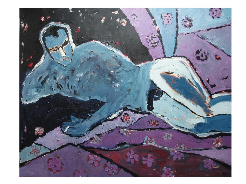 """""""Hare…hare…"""", olej na płótnie, 120 x 150"""