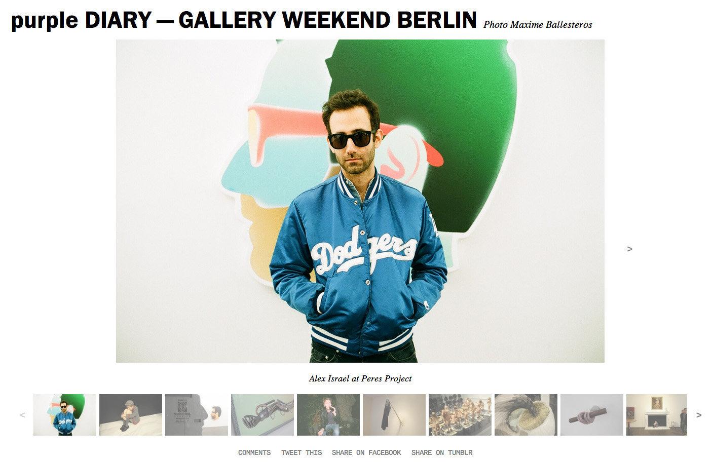 purple DIARY   GALLERY WEEKEND BERLIN.jpg