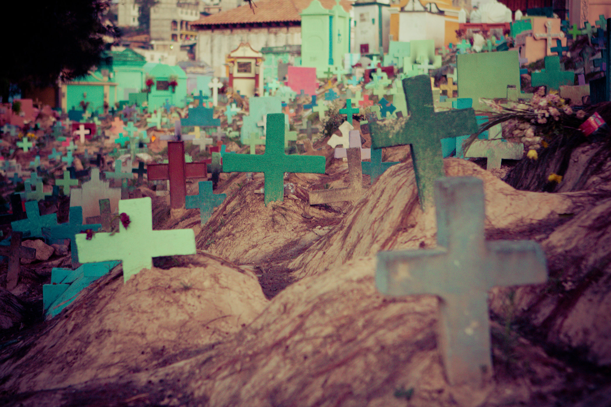 Cemetery in Chichicastenango II