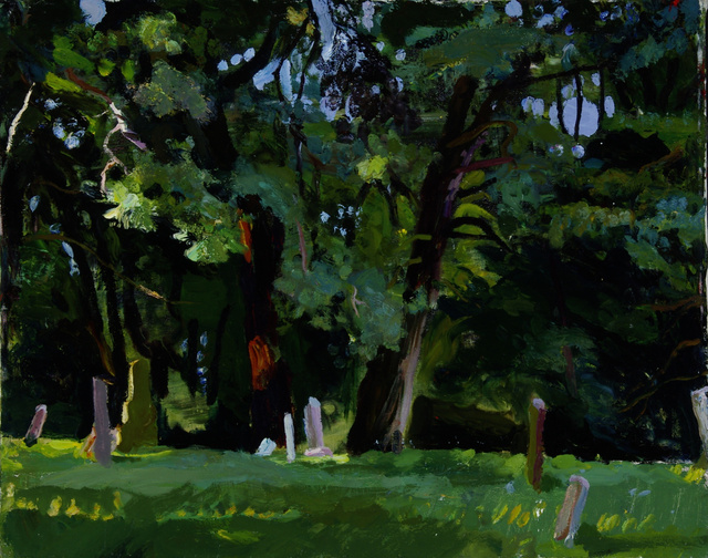 """Old White Pines, 24 x 30"""""""