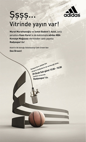Adidas Asist Poster Design