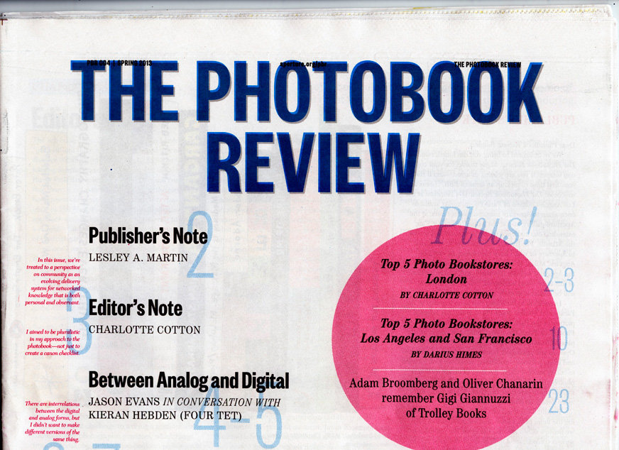 THE PHOTOBOOK REVIEW, NEW YORK