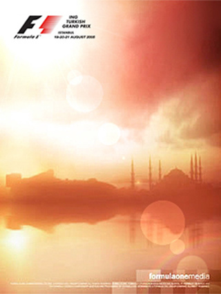 Formula1 Turkish Grand Prix -  Press Ad