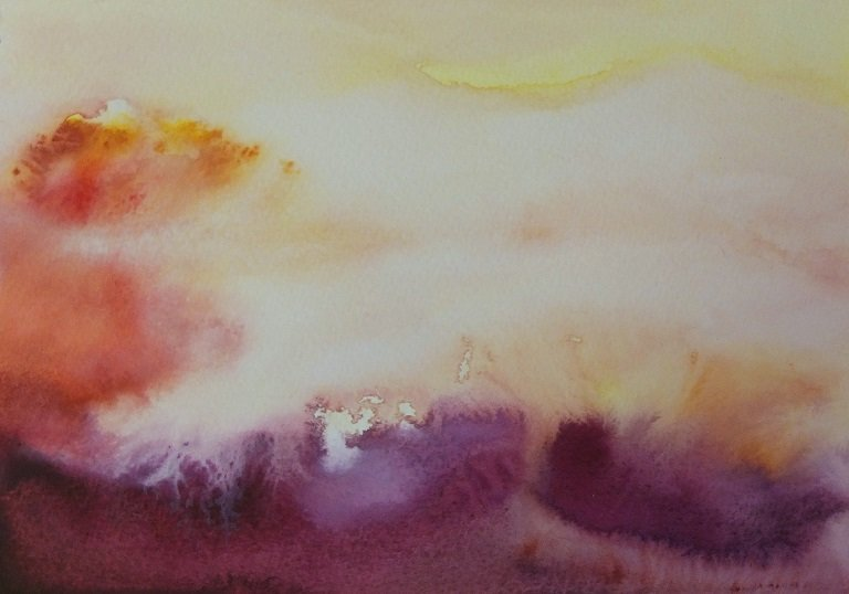 Clouds Study 2 by Alison Gracie