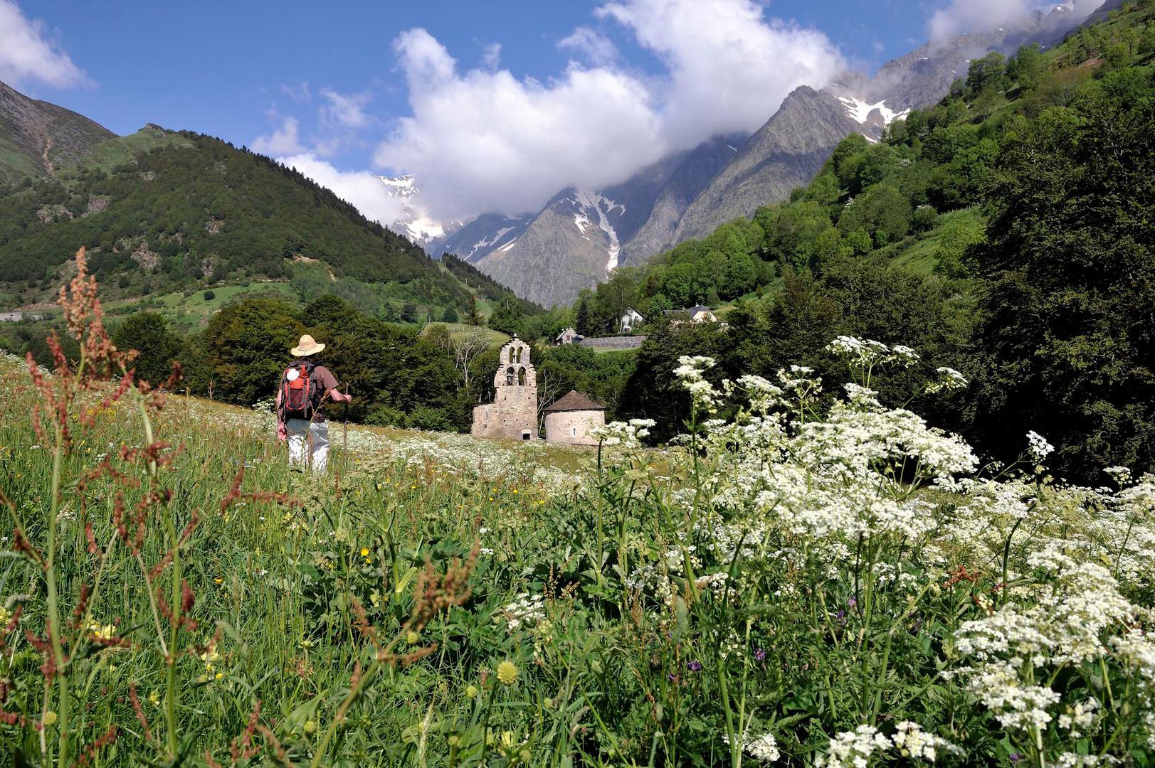Aragnouet, Chemin du Piémont-Pyrénéen, France