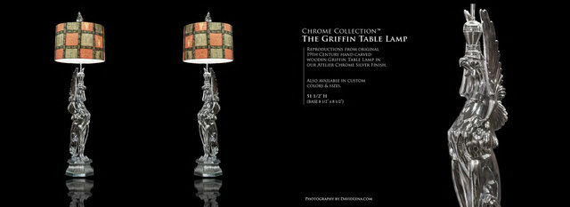 The Griffin Table Lamp