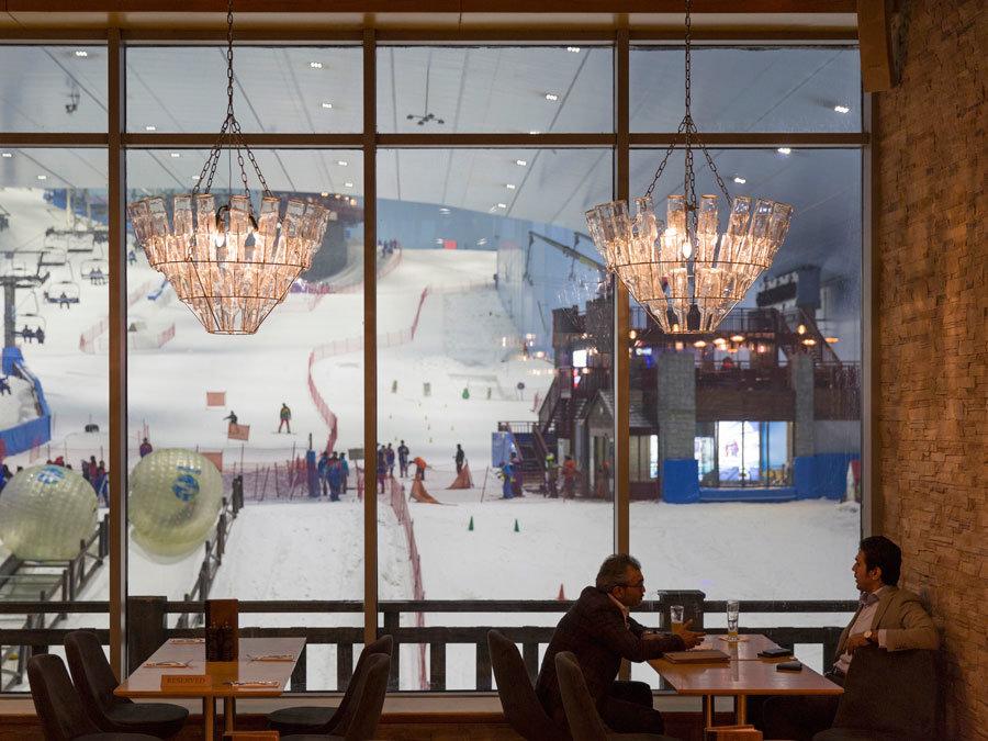 Ski Dubai in the Mall of the Emirates