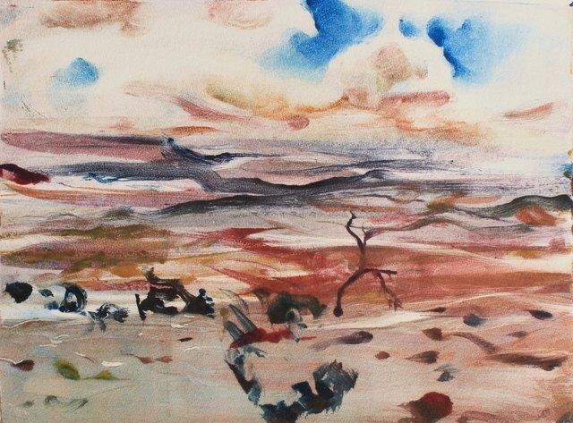 """Desert Clouds   10 x 13"""""""
