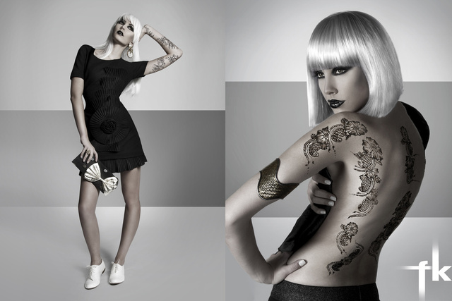 Monochrome / Client: www.asianwomanmag.com