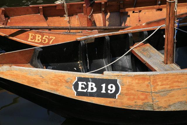 elburg - detail vissersboot
