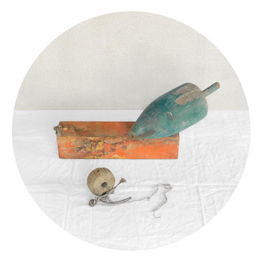 Buoys, Blue, Orange, 2010