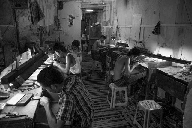 Jewelry workers