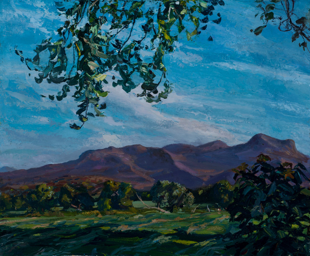 Mountains, Vermont, 28 x 34""