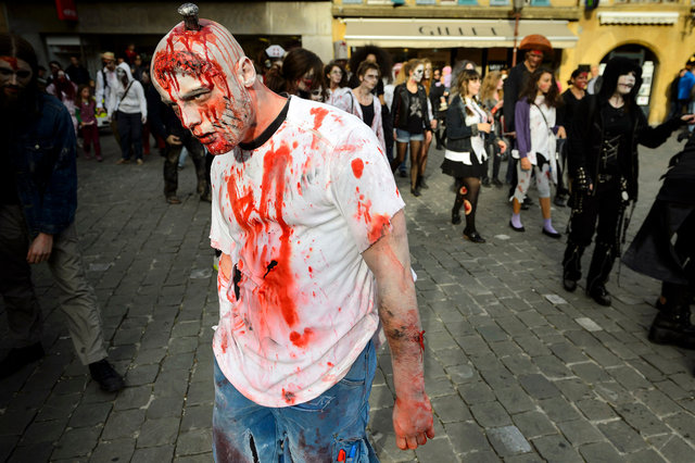 Zombie Walk - Yverdon - 2013