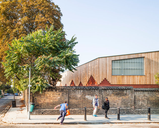 Sacred Heart School. Cottrell and Vermeulen Architects