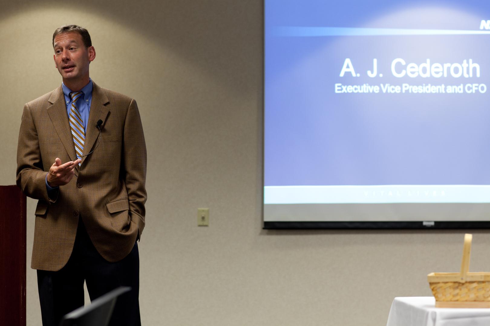 A.J. Cederoth-Executive VP and CFO Navistar