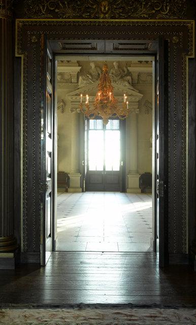 Houghton Hall Stonehall Doorway - Before Part 1