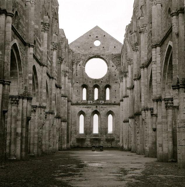 italie - san galgano sisticienzer klooster