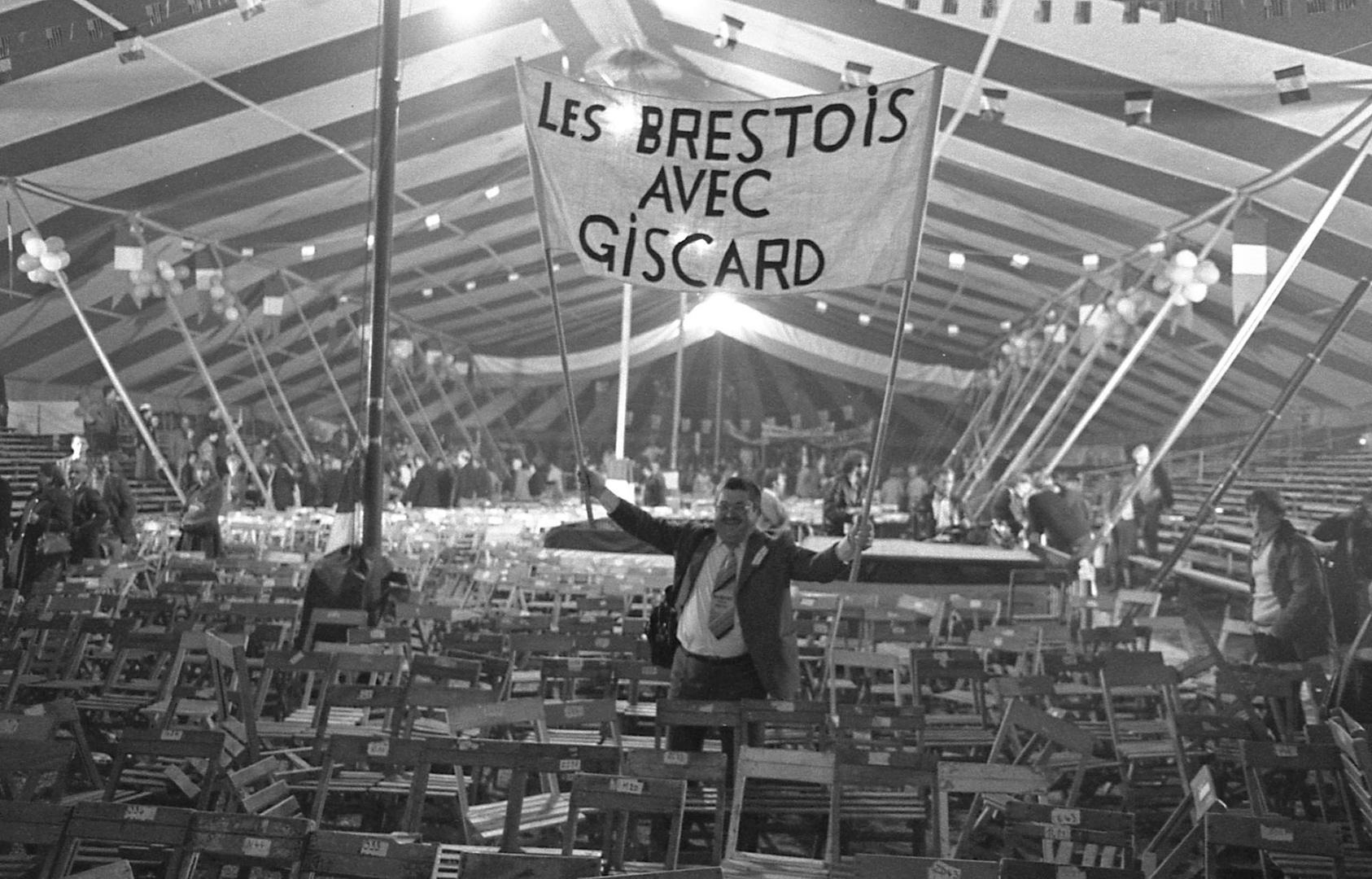 Campagne présidentiele de 1980, Lorient