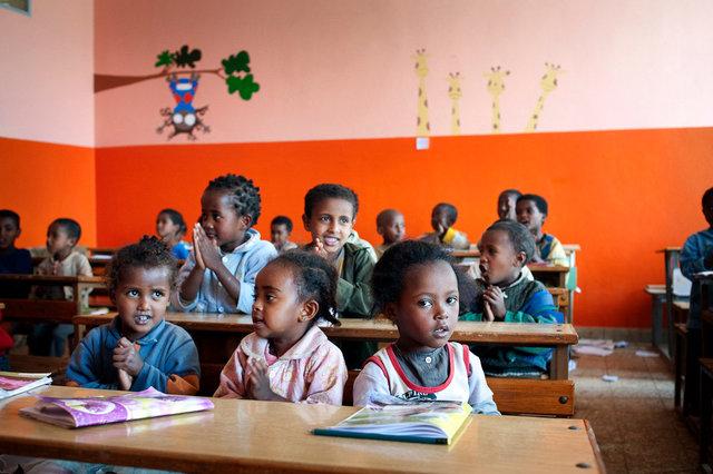 Mekanissa, school built by VIS
