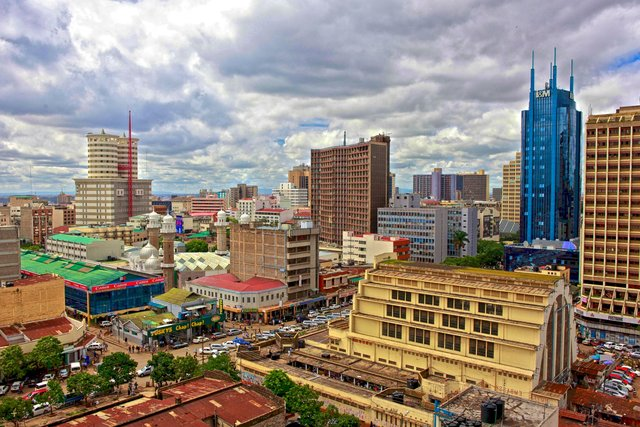 Down Town Nairobi, Kenya