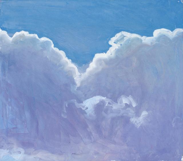 """Clouds, 32 x 34"""""""