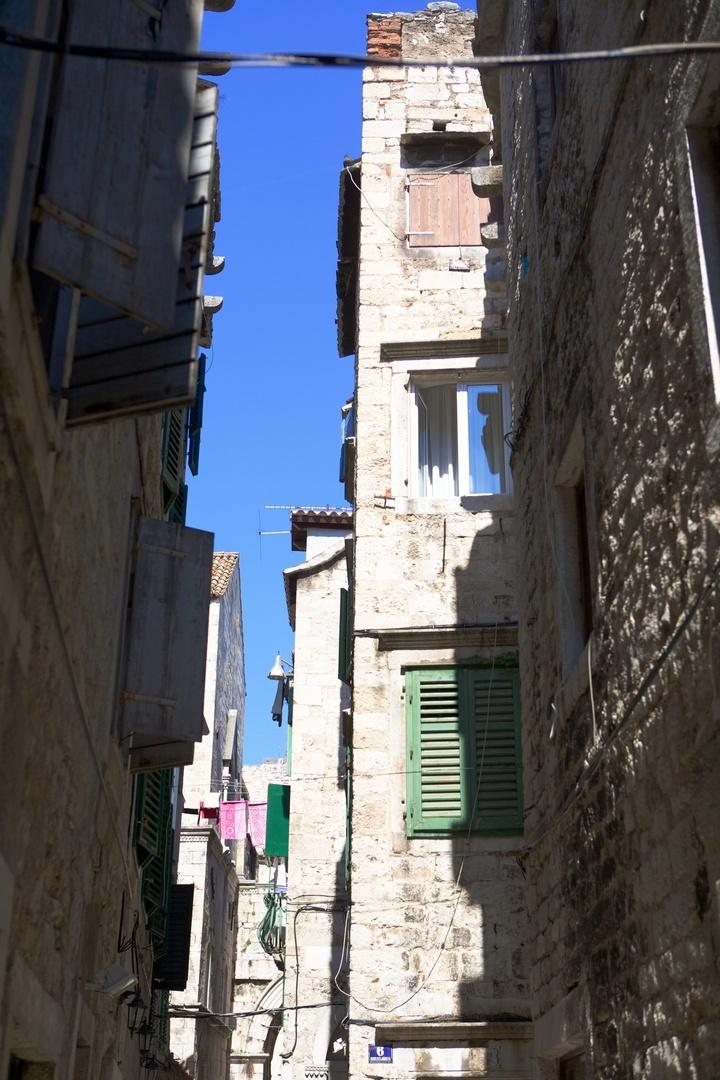 Ruas do Palácio Diocletian