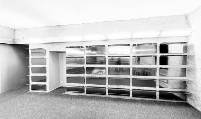 Modules, 2007. Commande publique, espace librairie / accueil, centre d'art Le Quartier, Quimper