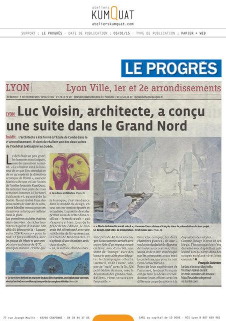 LE PROGRÈS - 05/01/15