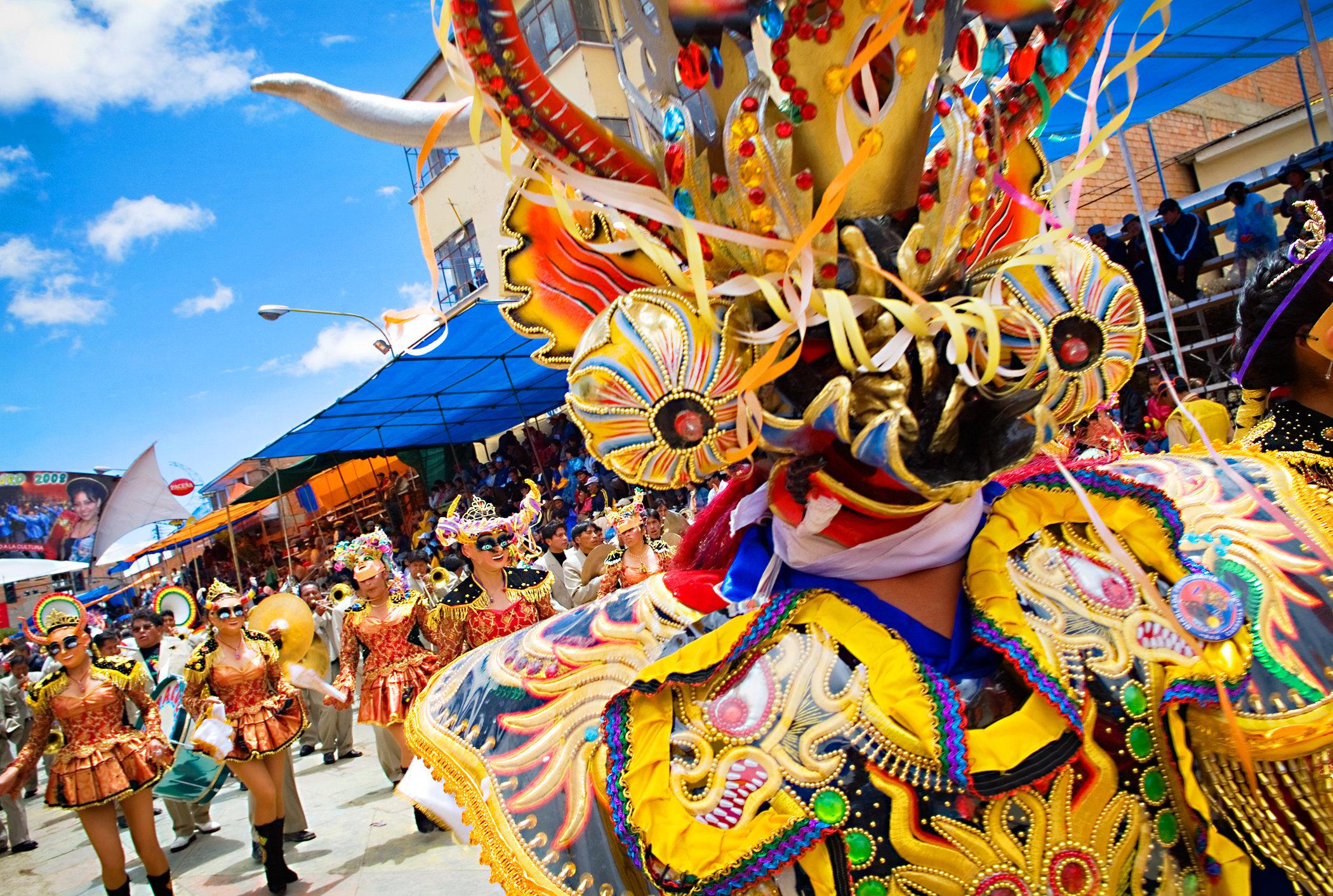 Dancing Masked Devils