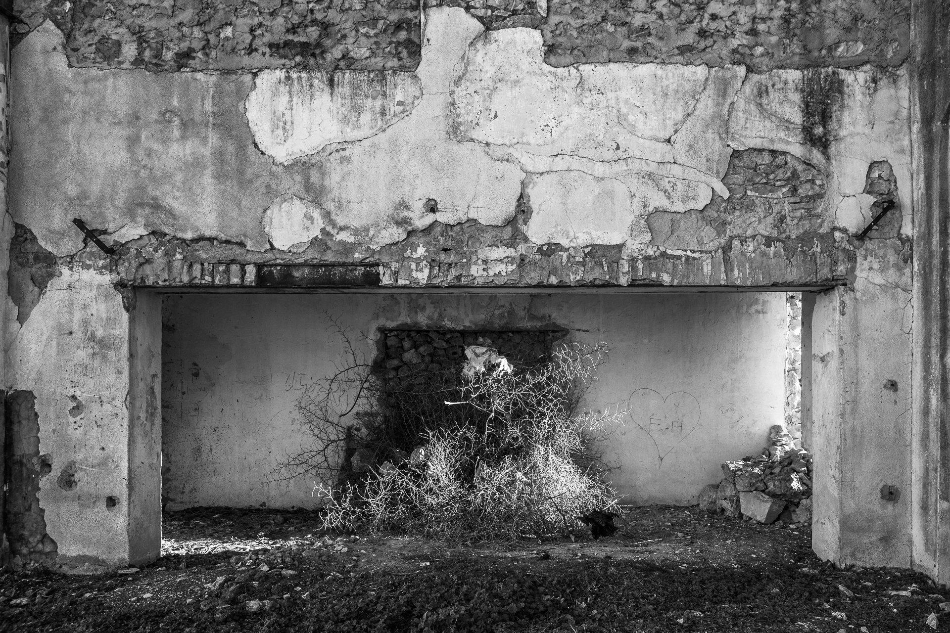 Mine désaffectée. Garn Halfeya, 2014.