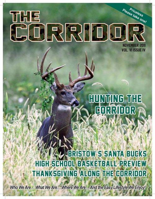 The Corridor Magazine; © November 2011