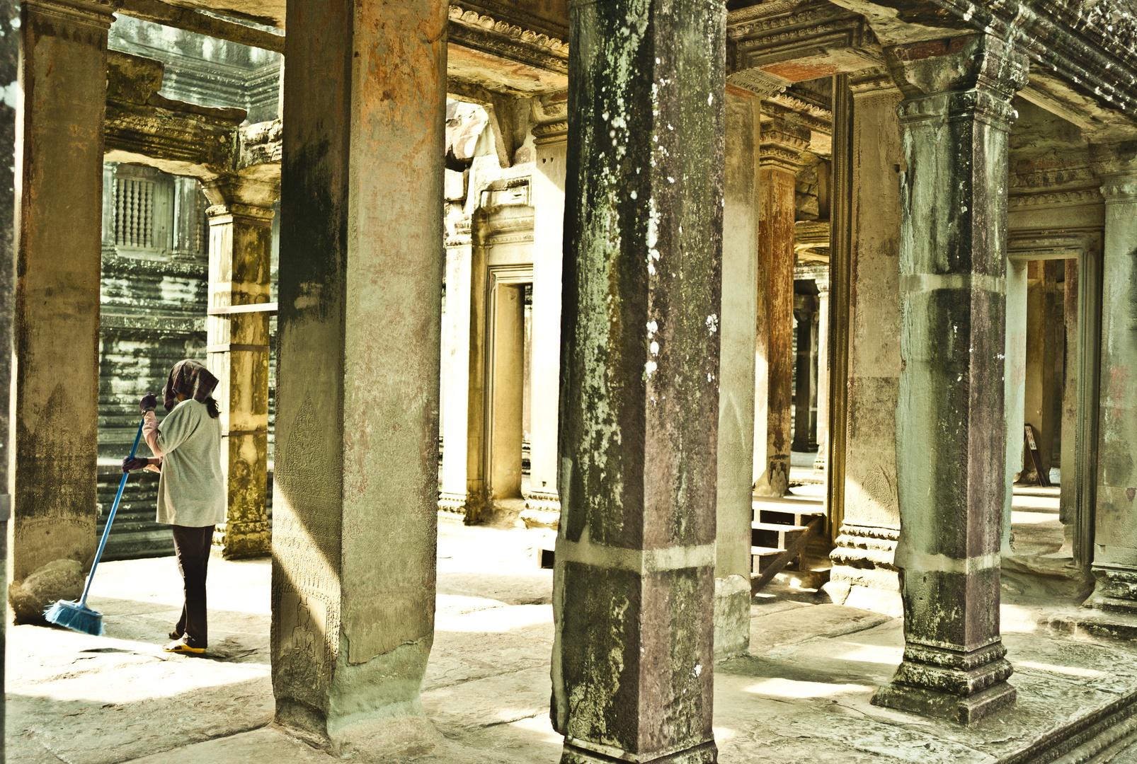 Angkor Wat, Cambodia. 2011.