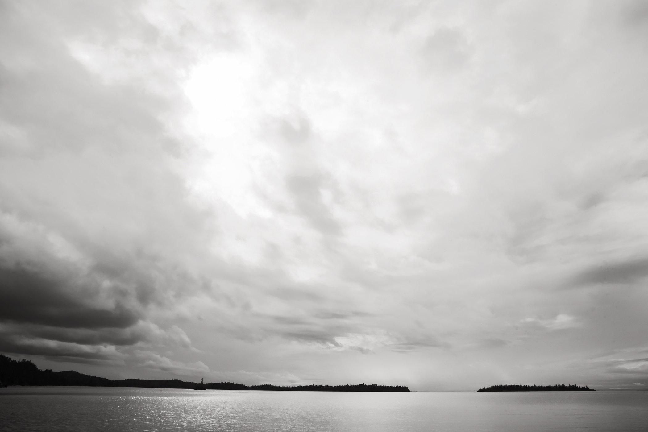 Isle Royale Sky