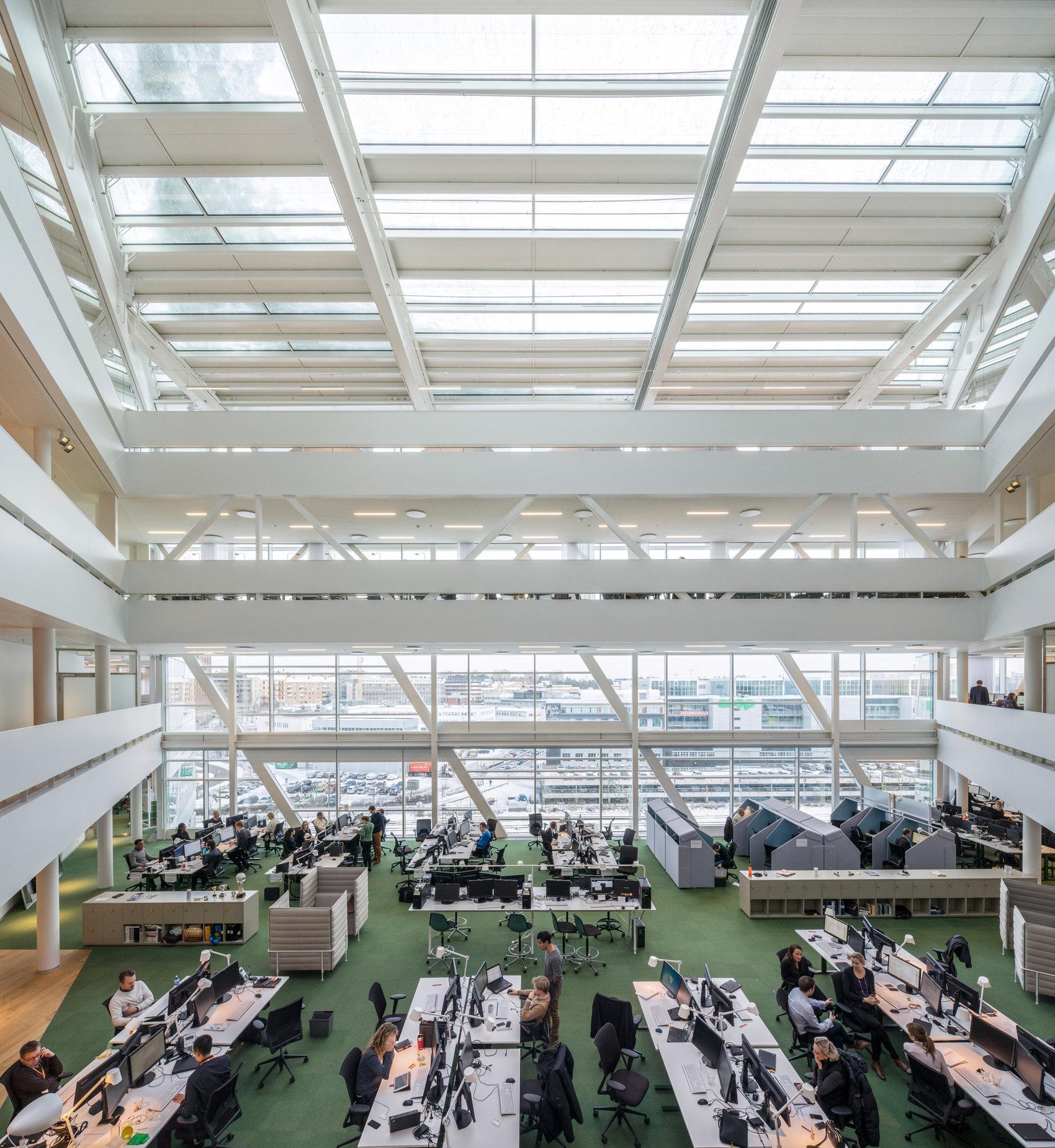 Swedbank. Stockholm. 3XN Architects