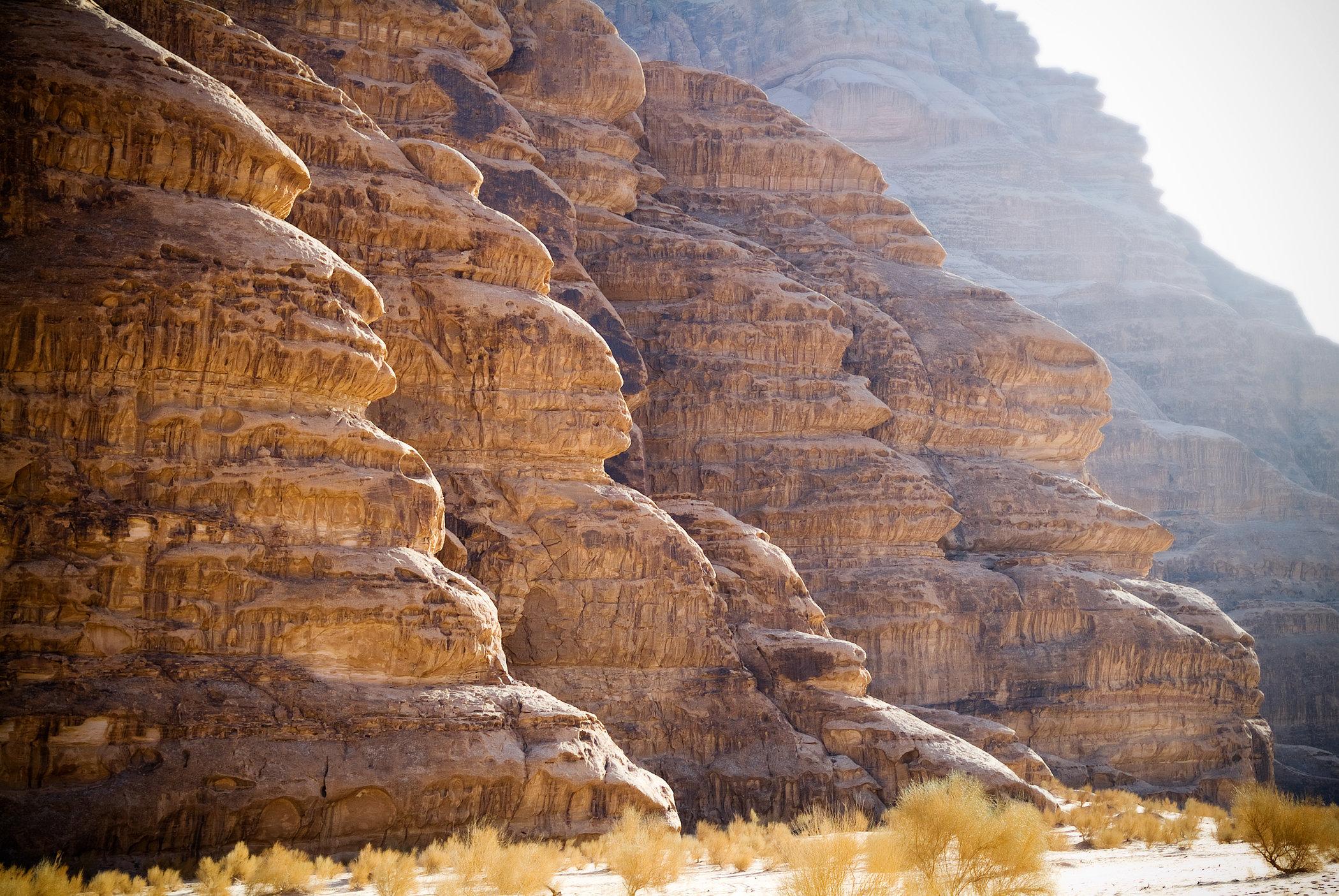 Cut into Sandstone