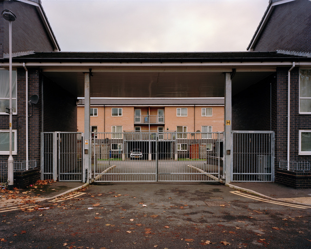 Gated development, Stockport, Greater Manchester, 2012