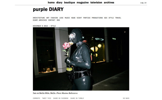 purple DIARY   5am on Berlin Mitte  Berlin. Photo Maxime.jpg